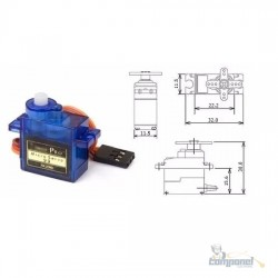 Arduino - Micro Servo Motor Tower Pro 9g Sg90